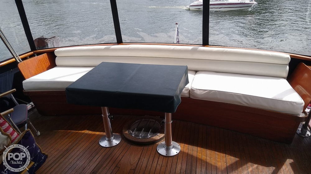 1968 Chris Craft boat for sale, model of the boat is Riviera Roamer 46 & Image # 11 of 40