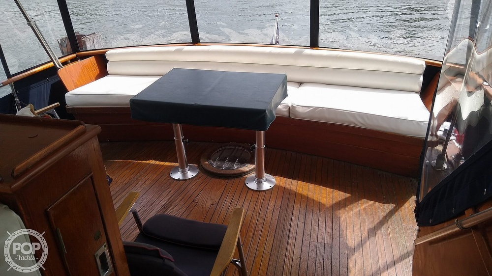 1968 Chris Craft boat for sale, model of the boat is Riviera Roamer 46 & Image # 12 of 40