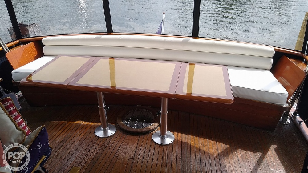 1968 Chris Craft boat for sale, model of the boat is Riviera Roamer 46 & Image # 9 of 40