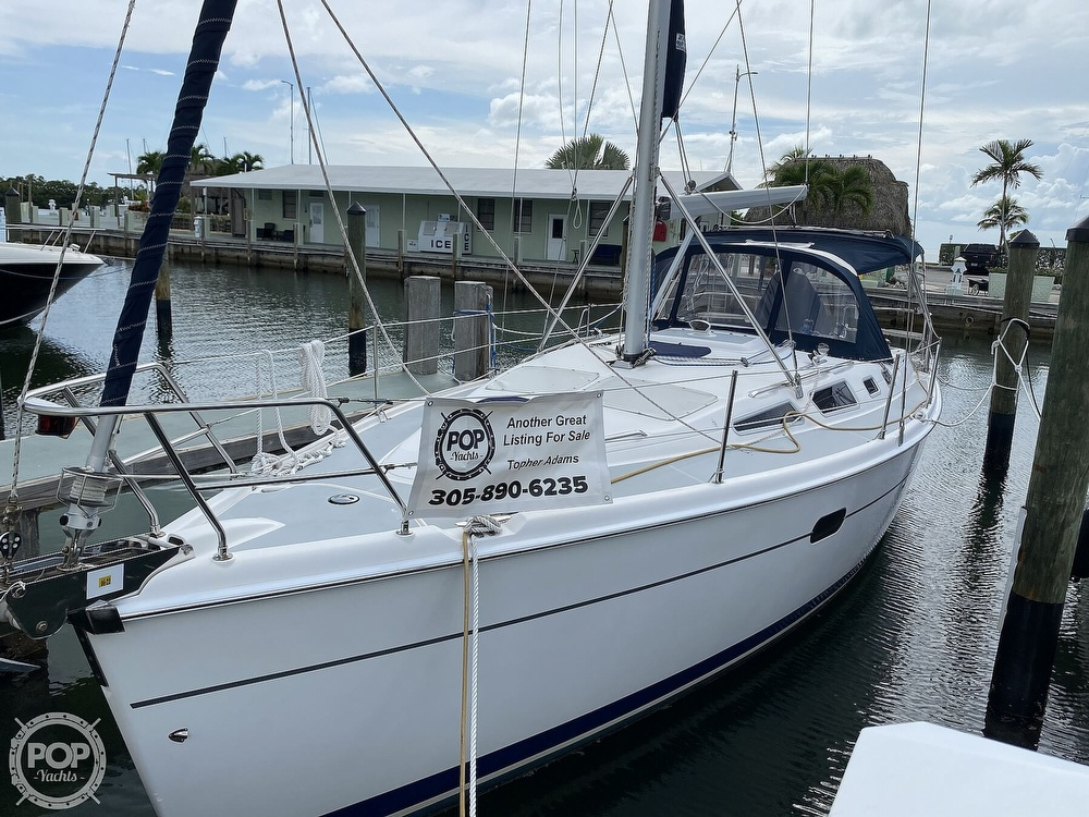 2003 Hunter boat for sale, model of the boat is 356 & Image # 2 of 40