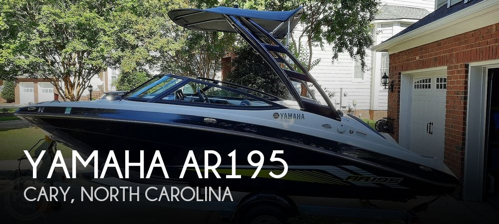 2017 Yamaha boat for sale, model of the boat is AR195 & Image # 1 of 37