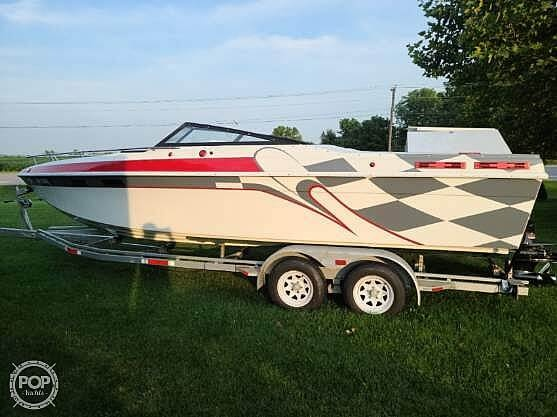 1988 Baja boat for sale, model of the boat is 230 Force & Image # 2 of 40