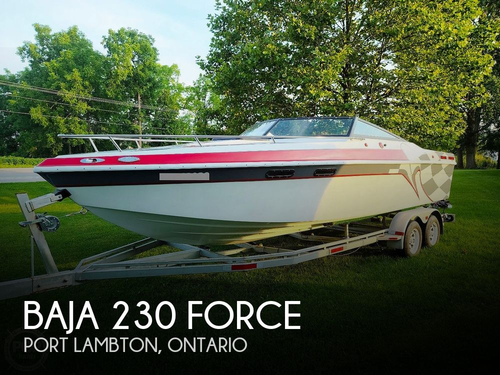 1988 Baja boat for sale, model of the boat is 230 Force & Image # 1 of 40