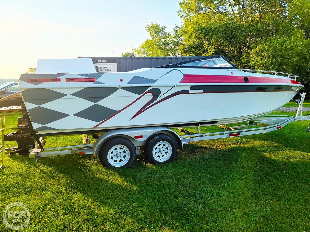 1988 Baja boat for sale, model of the boat is 230 Force & Image # 3 of 40