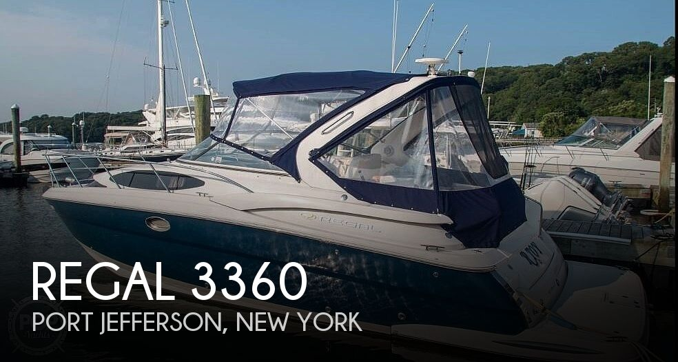 2008 Regal boat for sale, model of the boat is 3360 & Image # 1 of 40