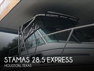 Used Stamas Boats For Sale by owner   1998 Stamas 28.5 Express