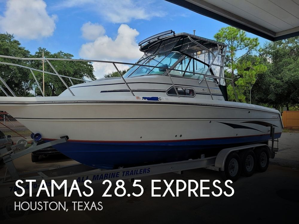 1998 Stamas boat for sale, model of the boat is 28.5 Express & Image # 1 of 40