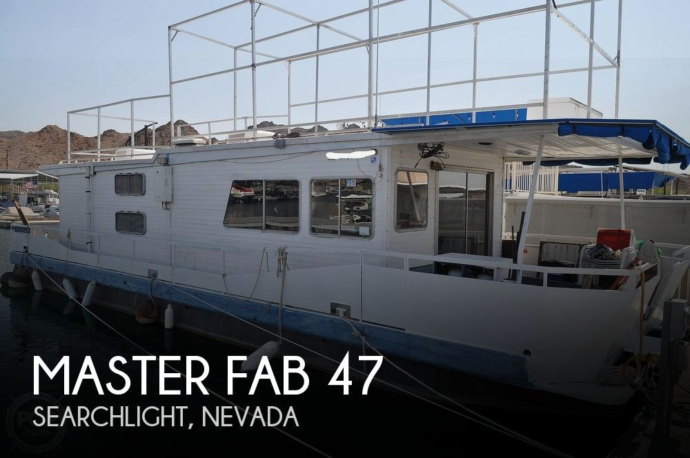 1982 Master Fabricators boat for sale, model of the boat is 47 & Image # 1 of 40