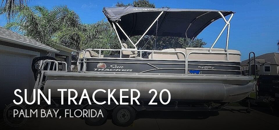 2018 Sun Tracker boat for sale, model of the boat is 20 DlX Party Barge & Image # 1 of 40