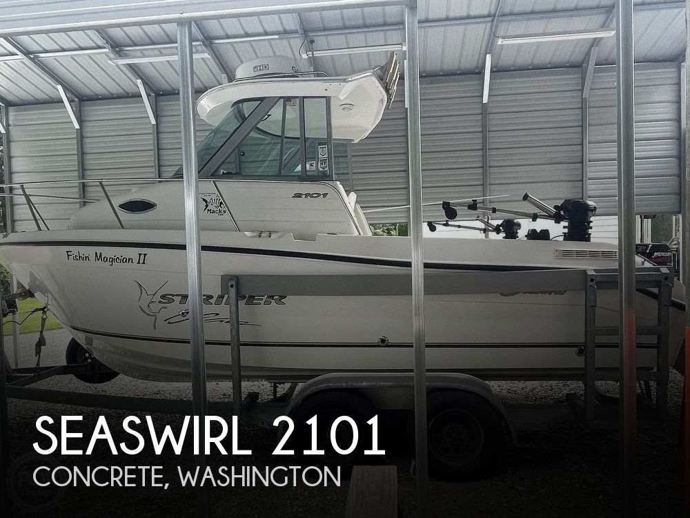 2003 Seaswirl boat for sale, model of the boat is Striper 2101 & Image # 1 of 40