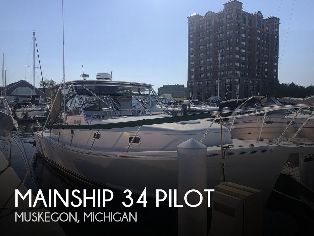 2001 Mainship boat for sale, model of the boat is 34 Pilot & Image # 1 of 40