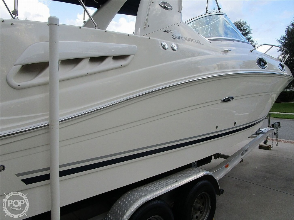 2007 Sea Ray boat for sale, model of the boat is 260 Sundancer & Image # 10 of 40
