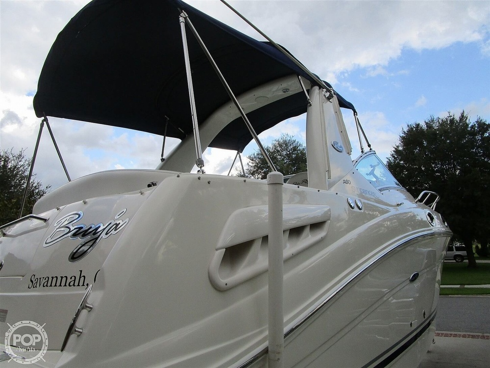 2007 Sea Ray boat for sale, model of the boat is 260 Sundancer & Image # 35 of 40