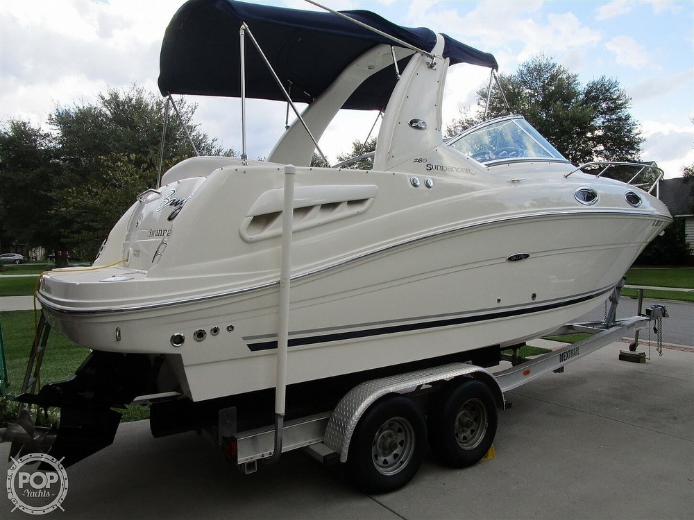 2007 Sea Ray boat for sale, model of the boat is 260 Sundancer & Image # 37 of 40