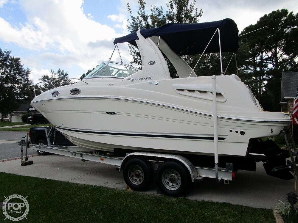 2007 Sea Ray boat for sale, model of the boat is 260 Sundancer & Image # 8 of 40