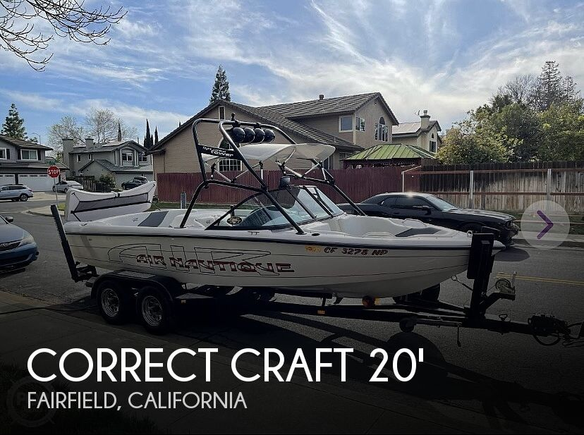 2000 Correct Craft boat for sale, model of the boat is Air Nautique & Image # 1 of 1