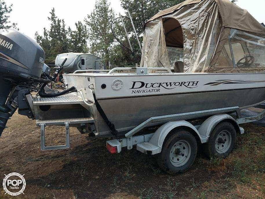 2004 Duckworth boat for sale, model of the boat is Pacific Navigator 195 & Image # 3 of 4