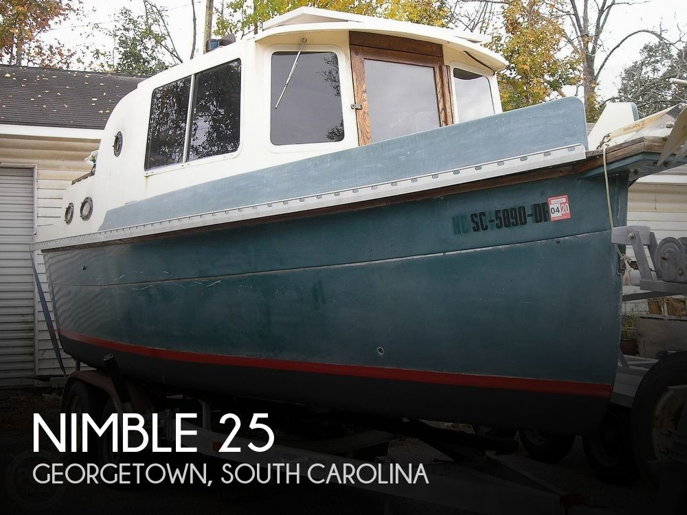 1992 Nimble boat for sale, model of the boat is 25 & Image # 1 of 17
