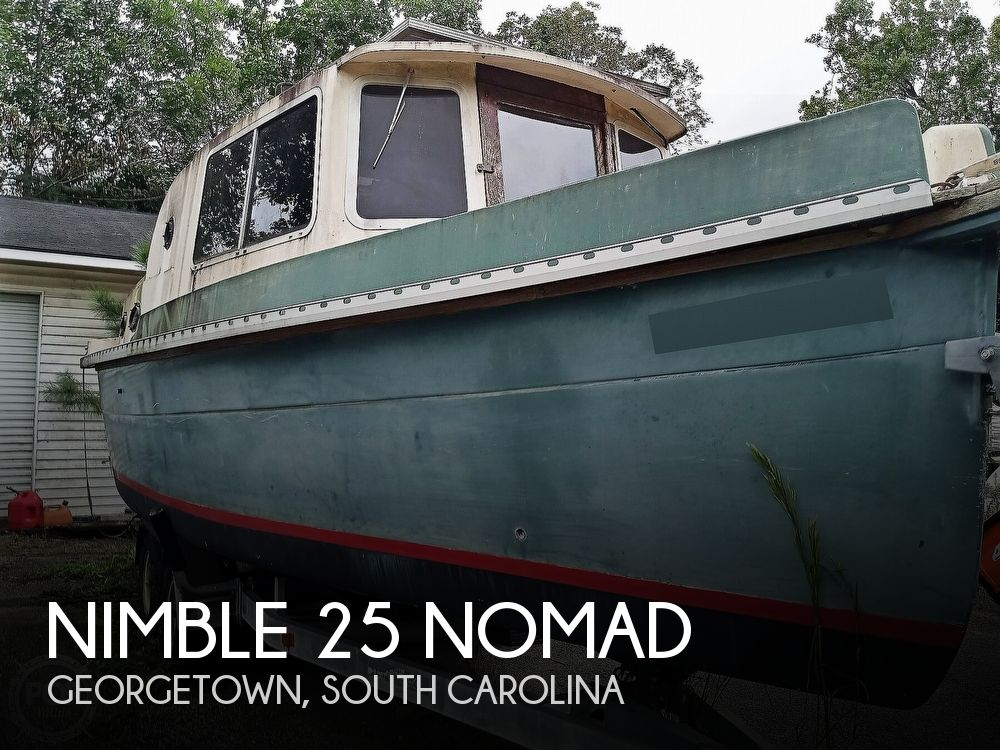 1992 Nimble boat for sale, model of the boat is 25 Nomad & Image # 1 of 40