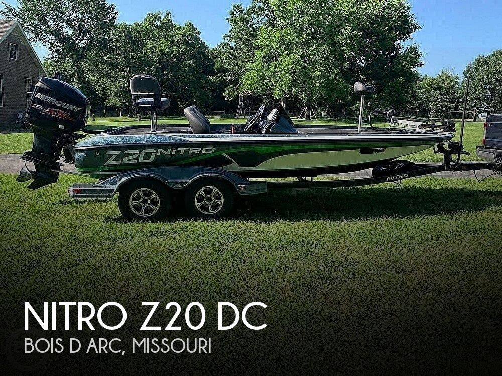 2017 Nitro boat for sale, model of the boat is Z20 DC & Image # 1 of 24