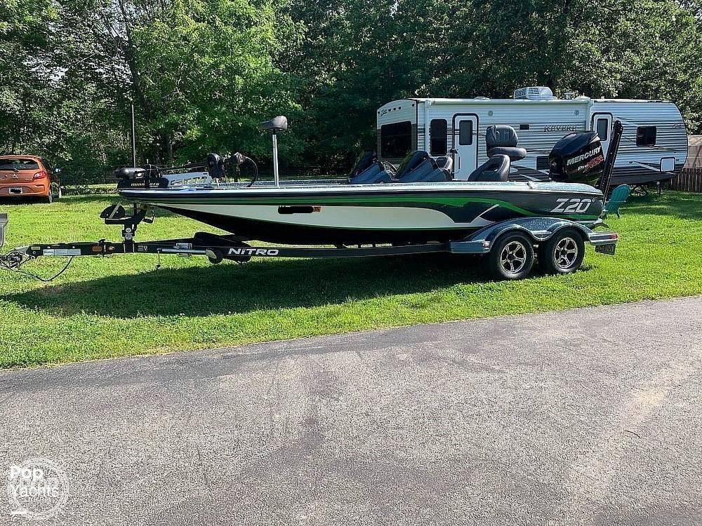 2017 Nitro boat for sale, model of the boat is Z20 DC & Image # 15 of 24