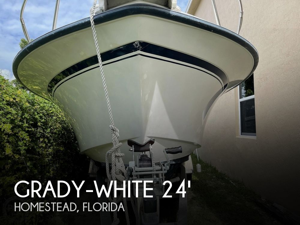 Used Grady-White Explorer Boats For Sale by owner | 1994 24 foot Grady-White Explorer