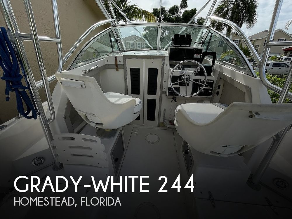 1994 Grady-White boat for sale, model of the boat is Explorer 244 & Image # 1 of 40