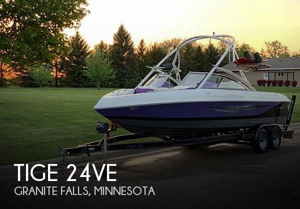 2007 Tige boat for sale, model of the boat is 24VE & Image # 1 of 14