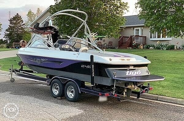 2007 Tige boat for sale, model of the boat is 24VE & Image # 3 of 14