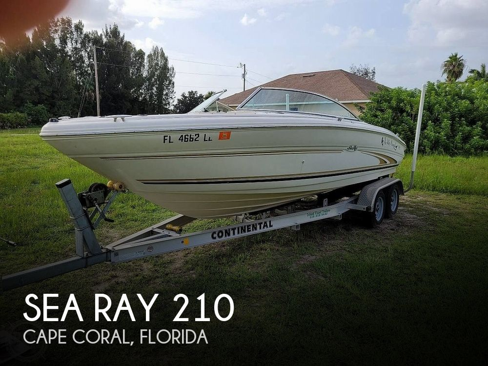 Used Sea Ray signature Boats For Sale by owner | 2001 Sea Ray 210 Signature Series