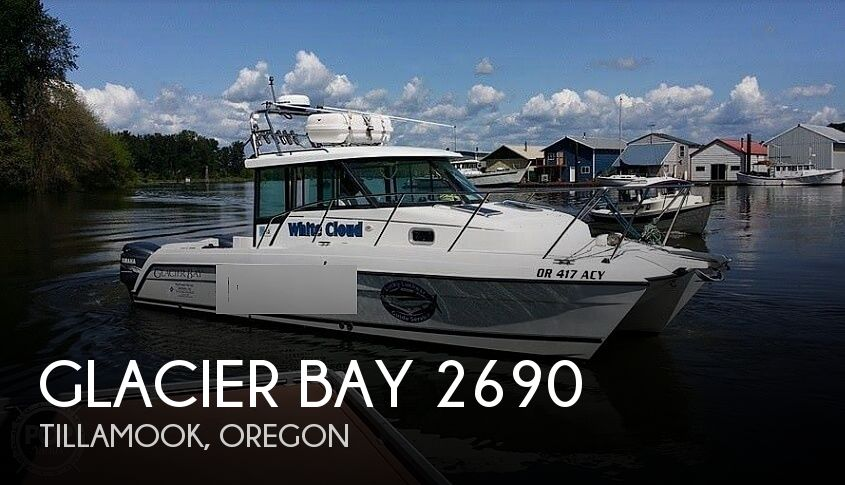 Used Power boats For Sale in Oregon by owner | 2001 Glacier Bay 2690 Coastal Runner