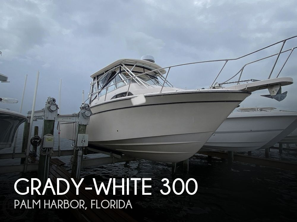 2006 Grady-White boat for sale, model of the boat is Marlin 300 & Image # 1 of 40