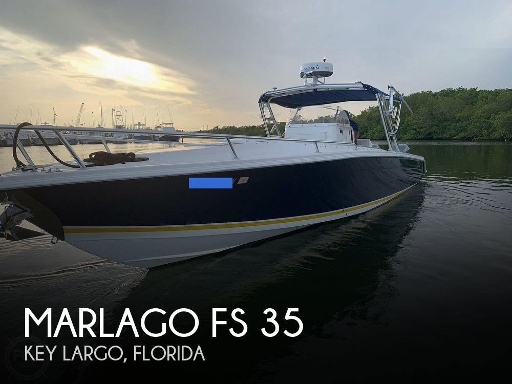 2002 Marlago boat for sale, model of the boat is FS 35 & Image # 1 of 40