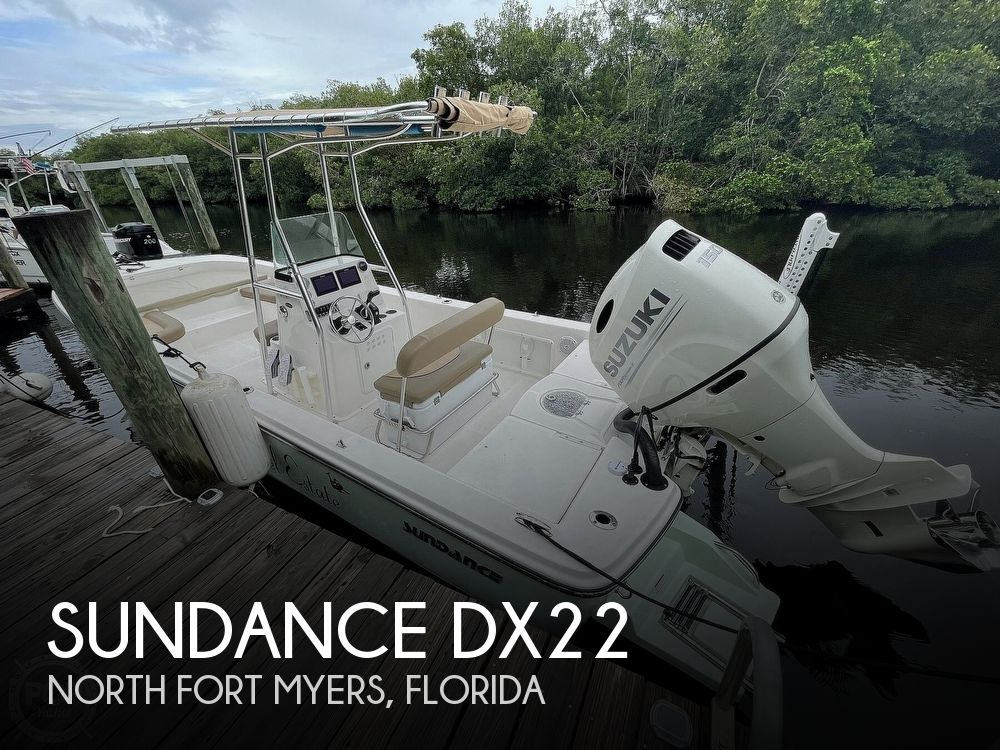 2021 Sundance boat for sale, model of the boat is DX22 & Image # 1 of 40