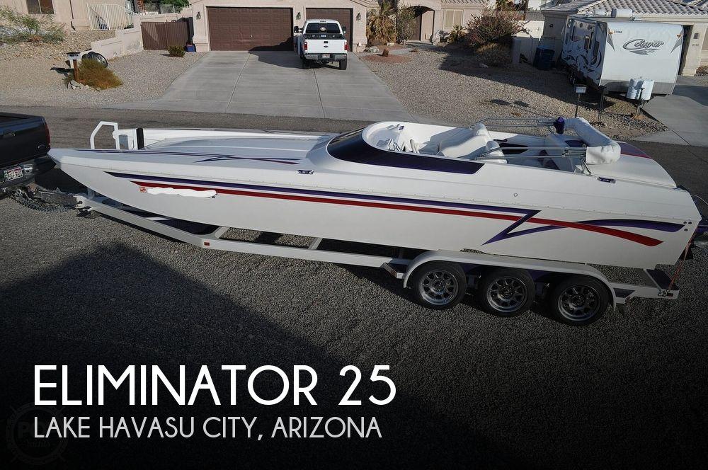 1997 Eliminator boat for sale, model of the boat is Daytona 25 & Image # 1 of 40