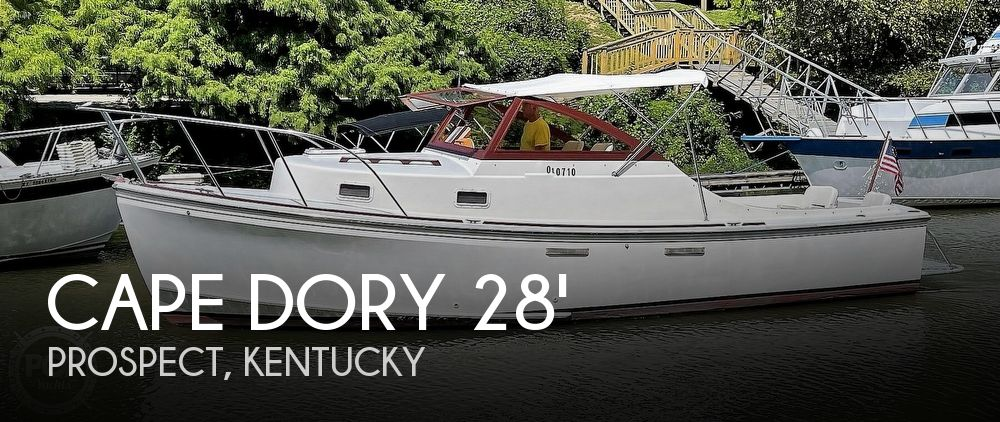 Used Power boats For Sale in Louisville, Kentucky by owner | 1988 28 foot Cape Dory Open Fisherman