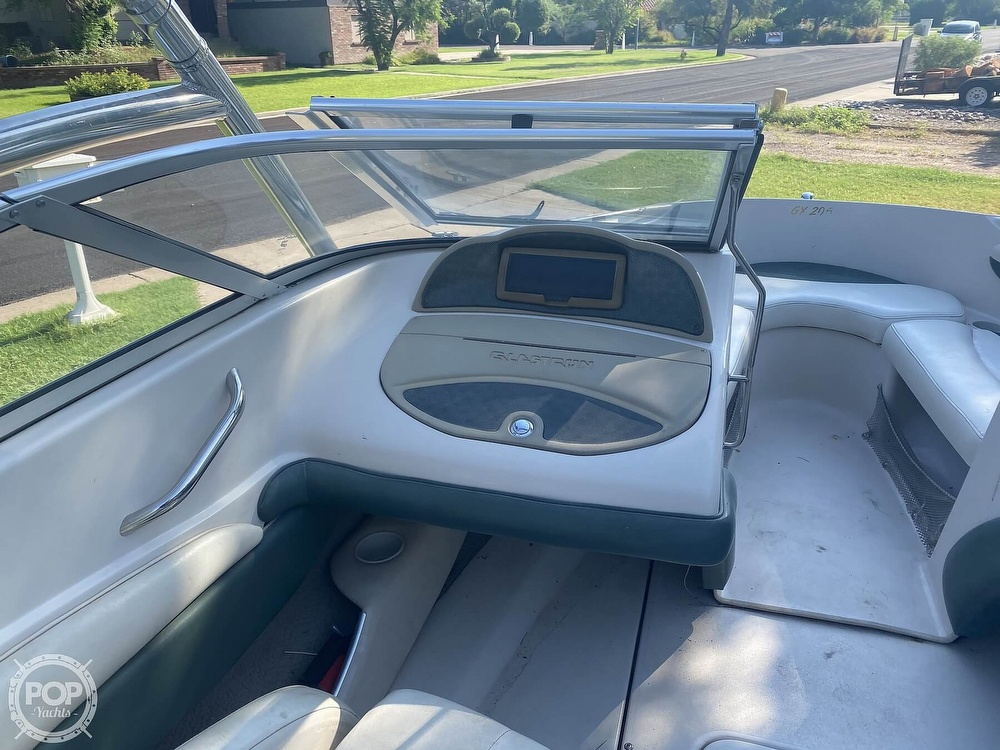 2002 Glastron boat for sale, model of the boat is Gx205 & Image # 22 of 40