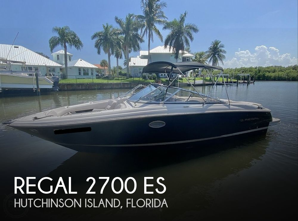 2008 Regal boat for sale, model of the boat is 2700 ES & Image # 1 of 40