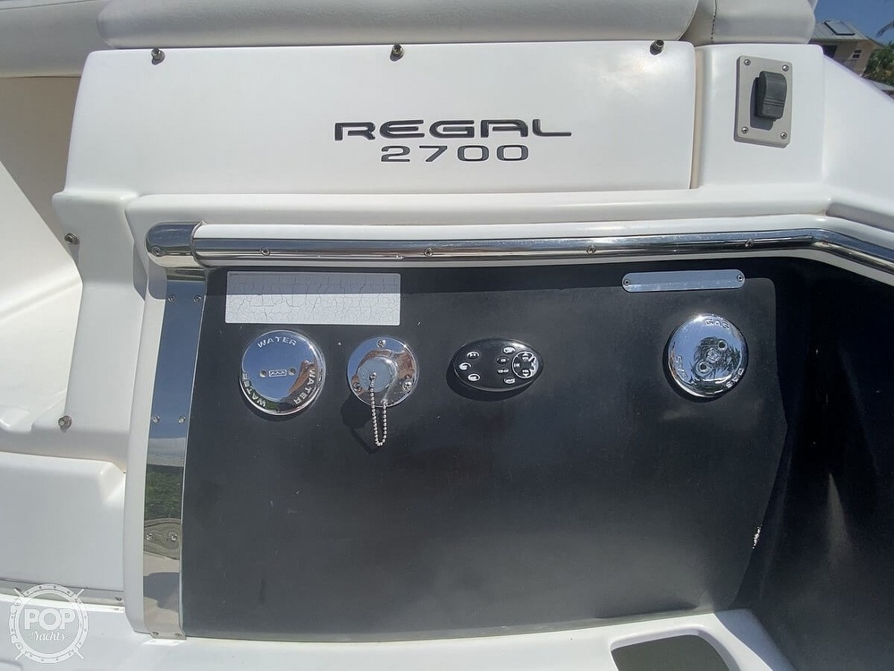 2008 Regal boat for sale, model of the boat is 2700 ES & Image # 20 of 40