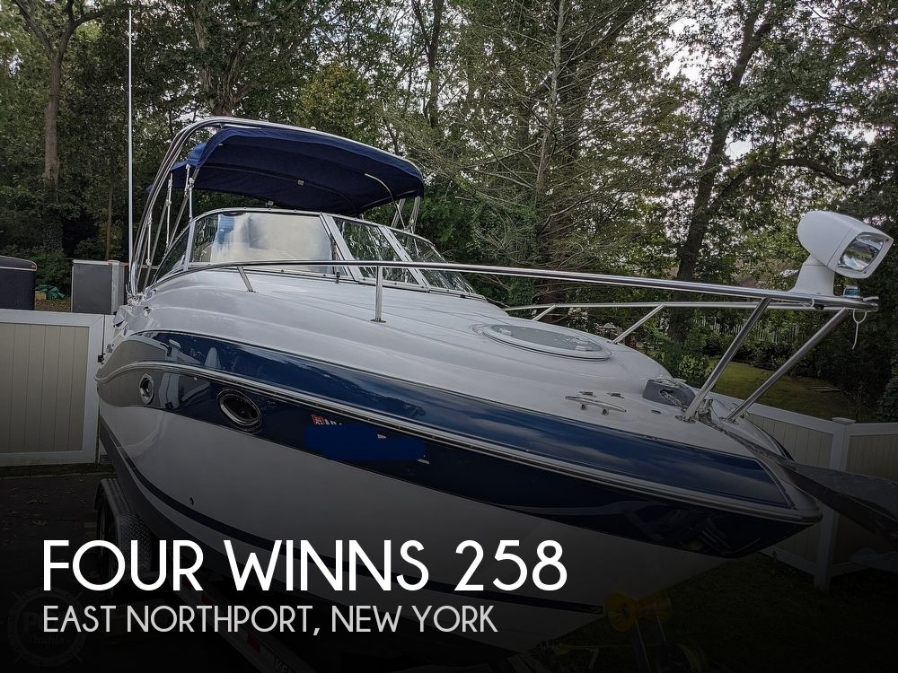 2007 Four Winns boat for sale, model of the boat is Vista 258 & Image # 1 of 40