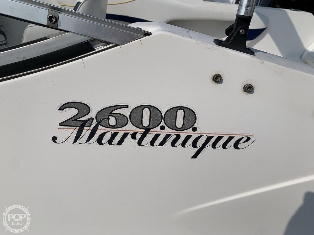 1999 Wellcraft boat for sale, model of the boat is 2600 Martinique & Image # 10 of 40