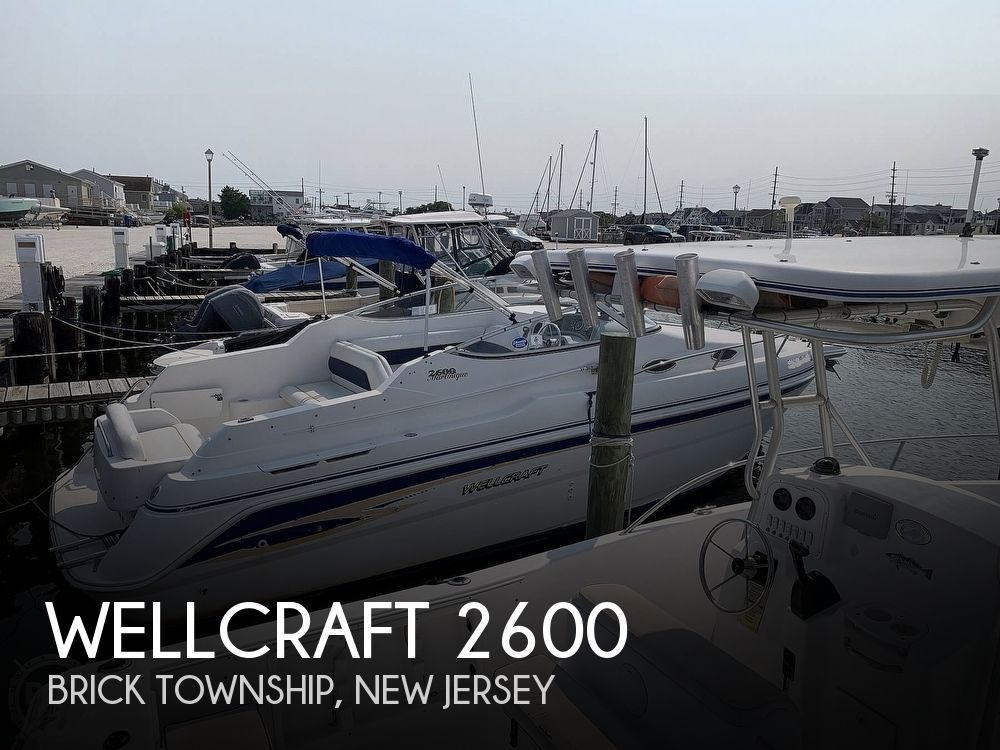 1999 Wellcraft boat for sale, model of the boat is 2600 Martinique & Image # 1 of 40