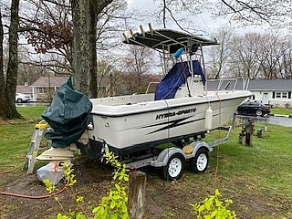 2001 Hydra-Sports boat for sale, model of the boat is 212 seahorse & Image # 2 of 2