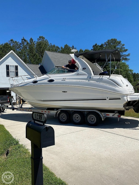 2004 Sea Ray boat for sale, model of the boat is Sundancer 280 & Image # 2 of 40