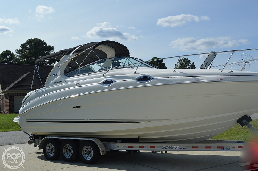 2004 Sea Ray boat for sale, model of the boat is Sundancer 280 & Image # 3 of 40