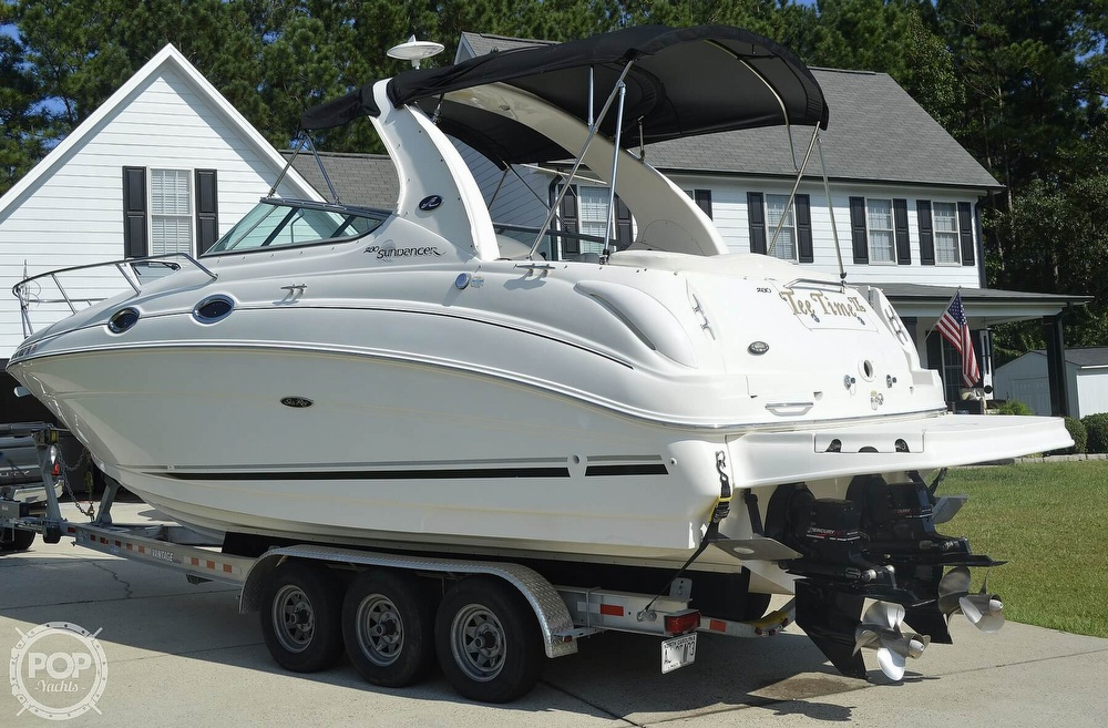 2004 Sea Ray boat for sale, model of the boat is Sundancer 280 & Image # 7 of 40