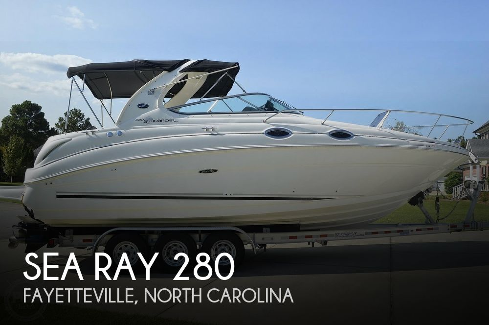 2004 Sea Ray boat for sale, model of the boat is Sundancer 280 & Image # 1 of 40