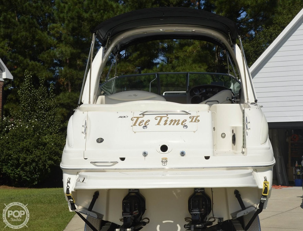 2004 Sea Ray boat for sale, model of the boat is Sundancer 280 & Image # 15 of 40