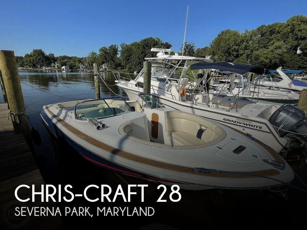 2004 Chris Craft boat for sale, model of the boat is 28 Launch & Image # 1 of 40