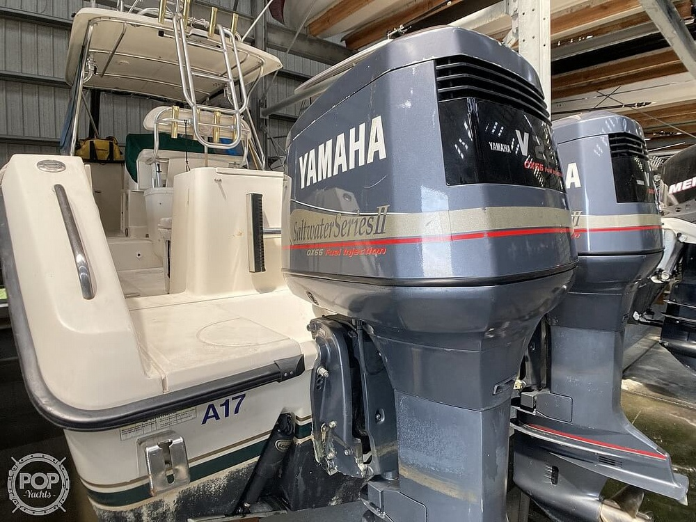 2000 Pursuit boat for sale, model of the boat is 2870 WA & Image # 3 of 40